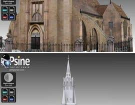 #18 для Design a simple modern catholic church от Jswanth