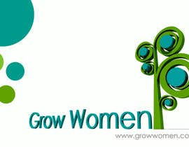 nº 6 pour Twitter Background Design for GrowWomen.com par adrianiyap