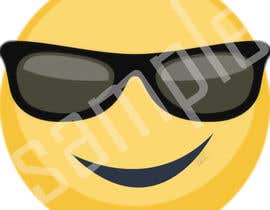 #12 para Smile Face with Sunglasses de abdullahalmmn6