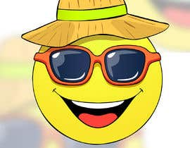 #11 para Smile Face with Sunglasses de gumelarkrisna1