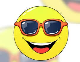 #62 para Smile Face with Sunglasses de gumelarkrisna1