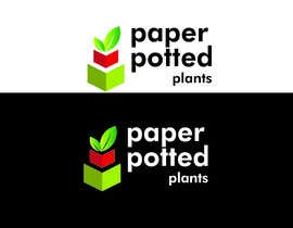 #5 for Logo for new company Paper Potted Plants by zainabfarooq164