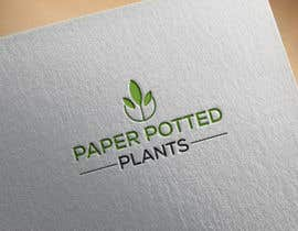 #10 for Logo for new company Paper Potted Plants by islamshofiqul852