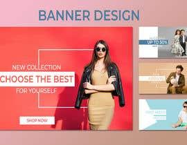 #28 for Banner design (1 banner - 4part) by Khalidgd