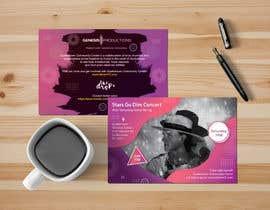 #66 untuk Design a Concert Post Card oleh naveedahm09