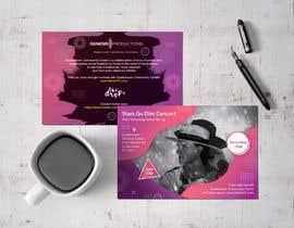 #67 untuk Design a Concert Post Card oleh naveedahm09