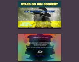 #60 untuk Design a Concert Post Card oleh Kalluto