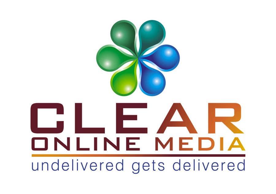 Конкурсная заявка №                                        40                                      для                                         Logo Design for CLEAR ONLINE MEDIA