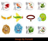 Entry # 17 for Design 7 icons/images for kids app/game, extended by