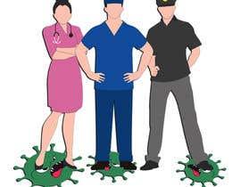Nro 20 kilpailuun Medical Heros käyttäjältä CreativeAwais
