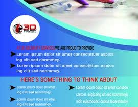 #154 for Flyer for Security Company by mdsohelislam461