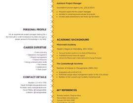 #9 для Resume Template in words. format от zeeshanftr