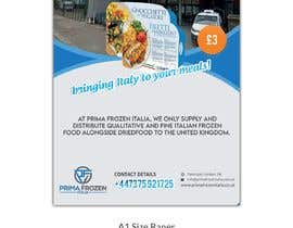 #9 для Design an A1 size banner for Italian Frozen Company от TH1511