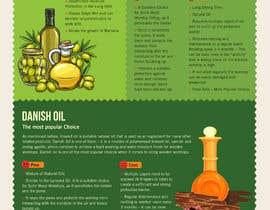 #9 para Infographics for comparison of different Wood Worktop  Oils de DipakGraphics