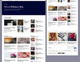 #22 para Blog Pages Design Contest. de dwikys98