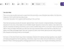 #20 for Create beautiful design for an open source text editor by badich