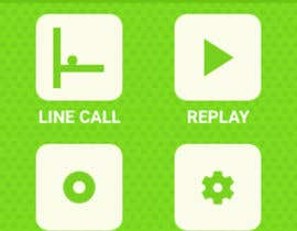 #15 для Graphical interface of a tennis sports device от pranavkhare02