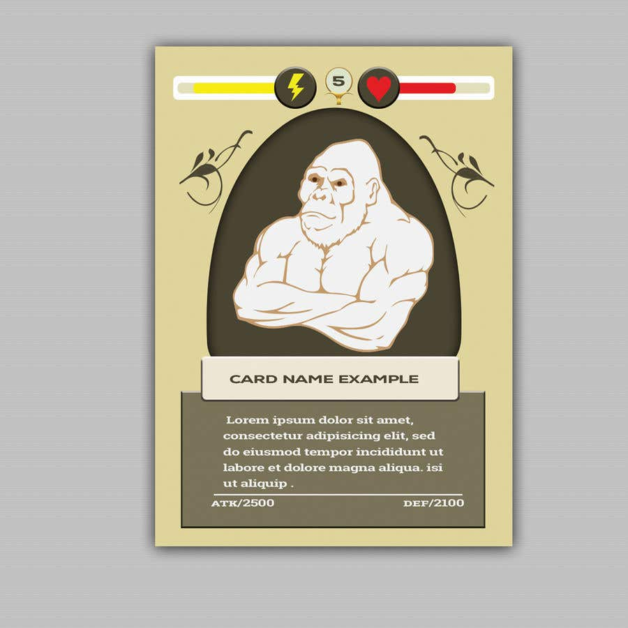 Penyertaan Peraduan #                                        28                                      untuk                                         Trading Card Game Template Design. Possible Multiple Winners.