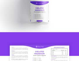 #101 для Product label template design for a nutraceutical brand -2 от Muadcreative