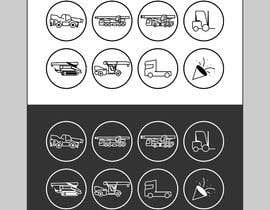 #20 for Vehicle outline Instagram icons by wawancreat