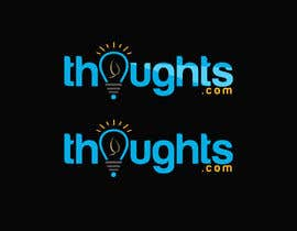 #42 для Thoughts.com New Logo Needed for FREE WordPress Bloggging Community от ronydebnath566