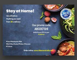#28 for Direct mail (post card) design for home delivery service by uroojmughal484