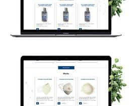 #24 for Design a website for a cosmetics brand selling hand sanitizer and masks by Suzenchong