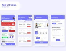 #174 for Graphic Design of Mobile App Screens by manishfromdwk