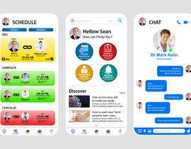 #183 for Graphic Design of Mobile App Screens by ahfahim88