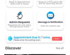 #180 for Graphic Design of Mobile App Screens by SrinivasUi