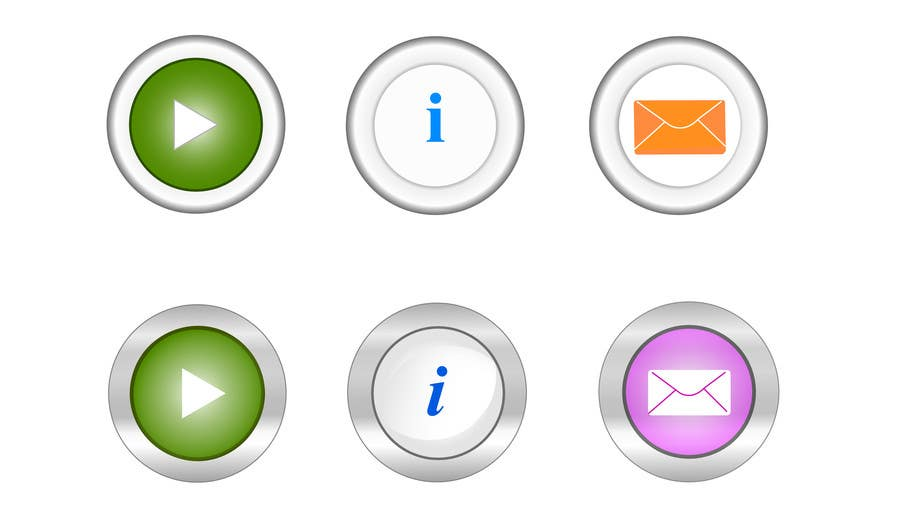 Bài tham dự cuộc thi #                                        24                                      cho                                         Icon or Button Design for Mobile Application