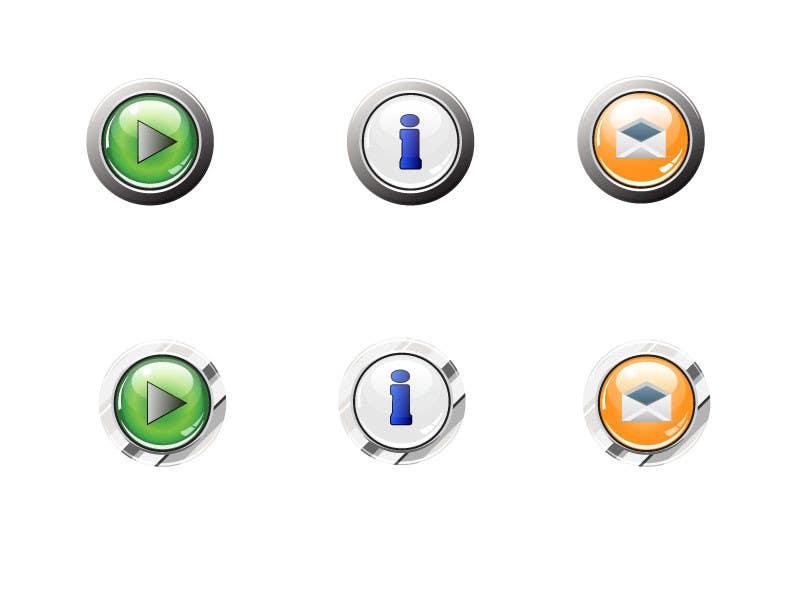 Bài tham dự cuộc thi #                                        30                                      cho                                         Icon or Button Design for Mobile Application