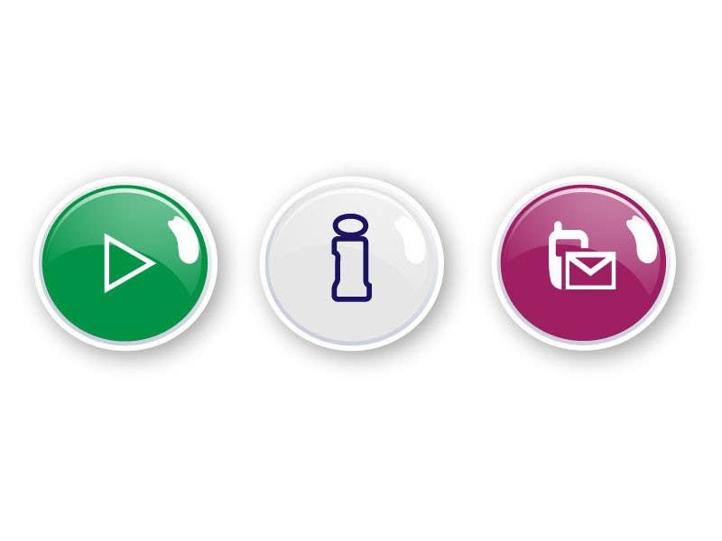 Bài tham dự cuộc thi #                                        31                                      cho                                         Icon or Button Design for Mobile Application