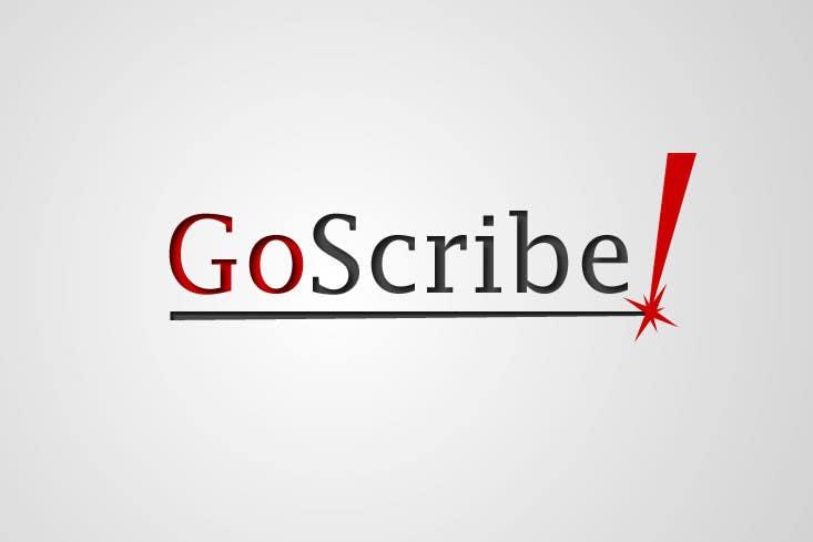 Konkurrenceindlæg #99 for GoScribe Logo