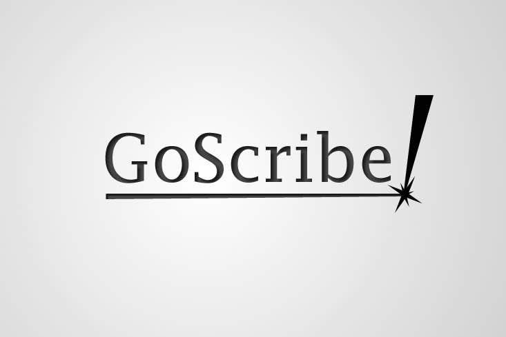 Inscrição nº 100 do Concurso para GoScribe Logo