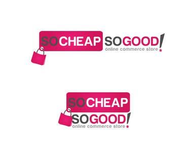 #14 para Logo Design for socheapsogood.com por rraja14