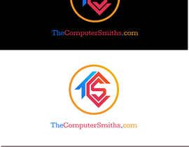 #95 untuk I'm looking for a logo to be designed for a wordpress website called The Computer Smiths's .com oleh dilithjay