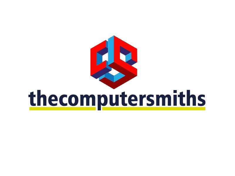 Penyertaan Peraduan #                                        34                                      untuk                                         I'm looking for a logo to be designed for a wordpress website called The Computer Smiths's .com