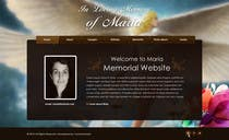Graphic Design Kilpailutyö #6 kilpailuun Just one static web page (with angels or divine wibes)