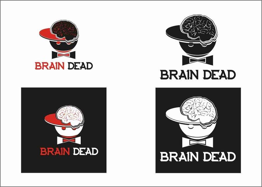 Penyertaan Peraduan #12 untuk Logo Design for brain dead