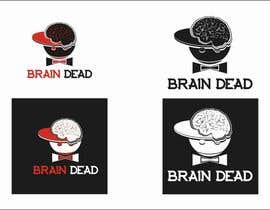 #12 para Logo Design for brain dead por airbrusheskid