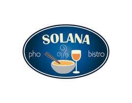 #75 för Design a Logo for Solana Pho & Bistro av mirceabaciu