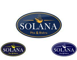 Nro 76 kilpailuun Design a Logo for Solana Pho & Bistro käyttäjältä mirceabaciu
