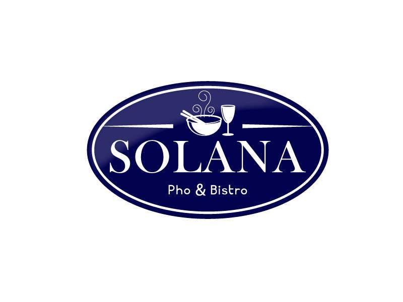 Tävlingsbidrag #77 för Design a Logo for Solana Pho & Bistro