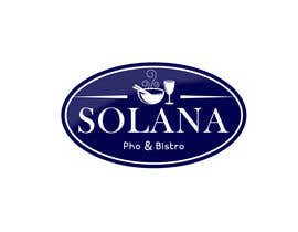 #77 для Design a Logo for Solana Pho & Bistro від mirceabaciu