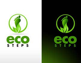 twindesigner님에 의한 Logo Design for EcoSteps을(를) 위한 #639