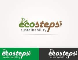 nº 622 pour Logo Design for EcoSteps par designregiment