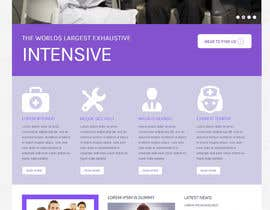 dineshajar님에 의한 Design a Website Mockup for an Online Medical Resource을(를) 위한 #13