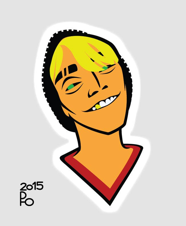 Contest Entry #4 for Head image to graffiti style caricature.