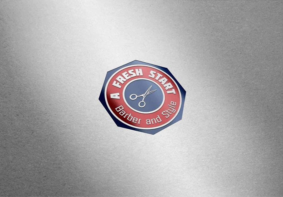 """Intrarea #57 pentru concursul """"Design a Badge/Logo for Barbershop"""""""
